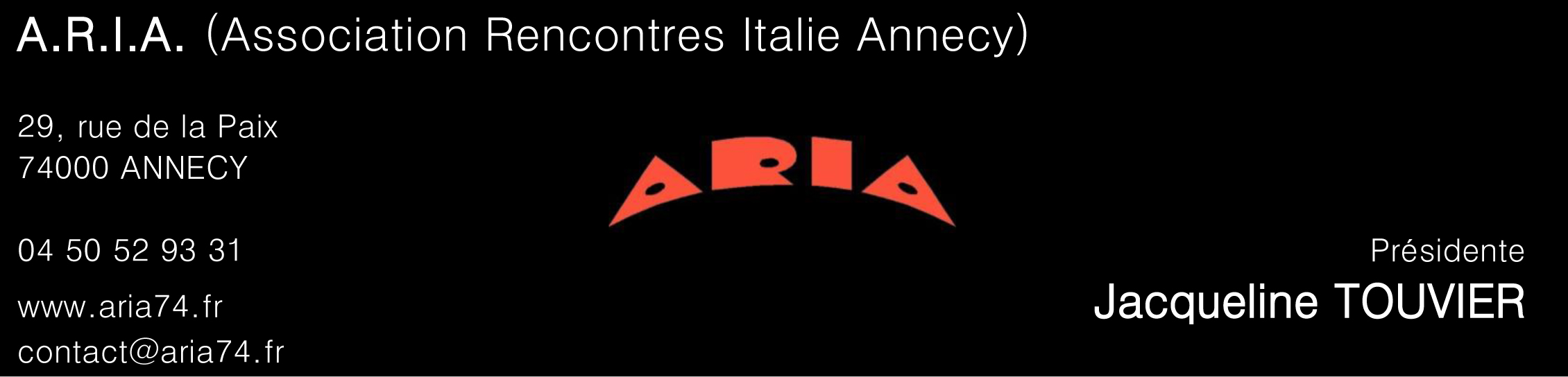 02 07 site ASSOCIATIONS ARIA