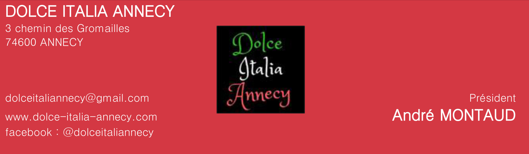 02 07 site ASSOCIATIONS DOLCE ITALIA ANNECY